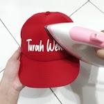 Cara Hemat Sablon Topi Menggunakan Bahan Polyflex dan Setrika