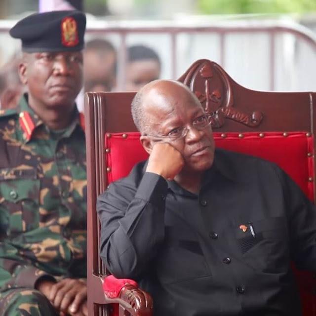 President John Pombe Magufuli file photo