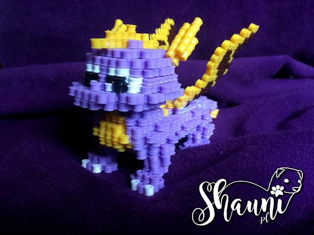 Perler beads 3D • The Legend of Spyro
