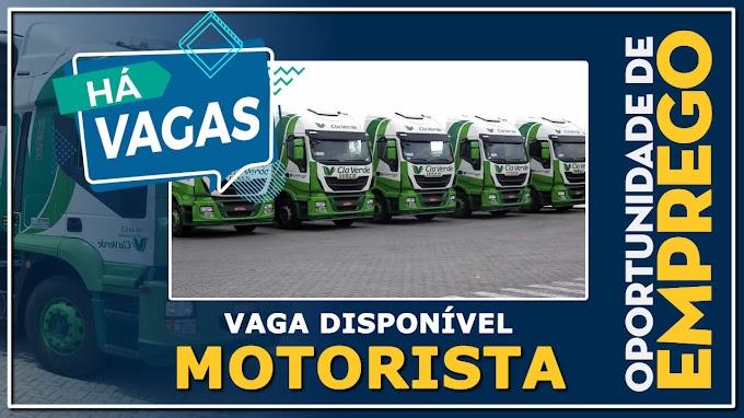 Cia Verde Transportes vagas para Motorista carreteiro Homens e Mulheres