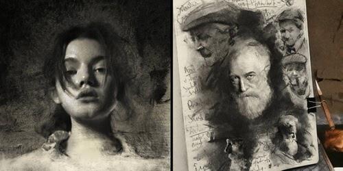 00-Portrait-Drawings-John-Fenerov-www-designstack-co