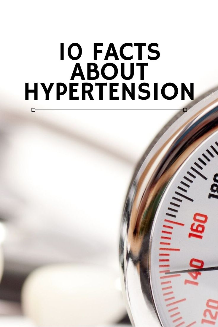 10 facts about hypertension