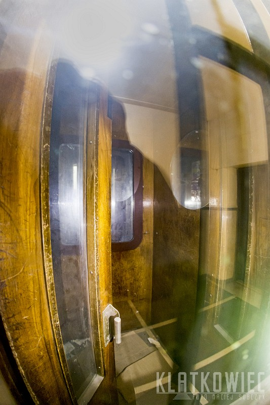 Katowice: panoramiczna przedwojenna winda