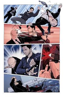 Primer vistazo al cómic Search for Hu #1 de AfterShock.