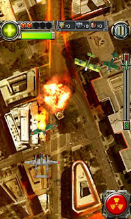 Screenshots of the Lighting fighter raid: Air fighter war 1949 for Android tablet, phone.