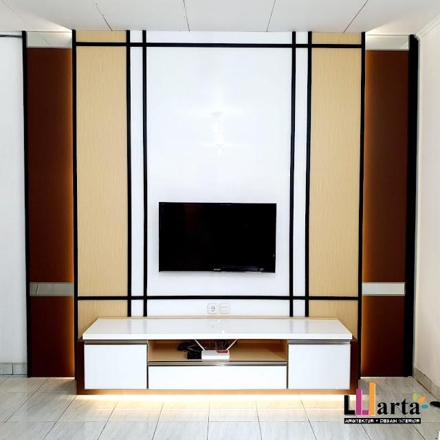 Lemari Meja TV Interior Metro Lampung