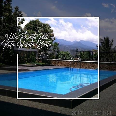 Villa Fasilitas Kolam Renang - View Bagus - Lokasi Startegis - Kota Batu