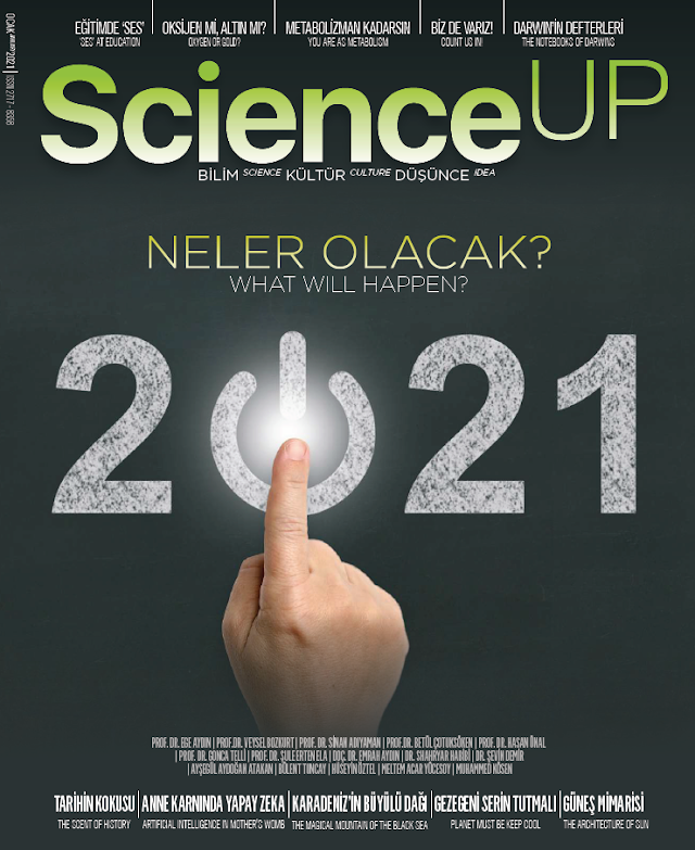 ScienceUp Ocak 2021 PDF Dergi indir