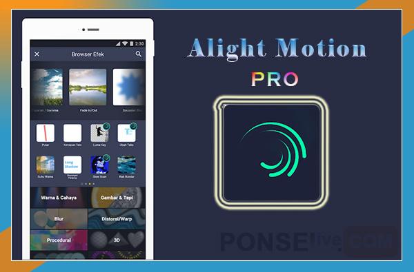 alight motion pro mod apk