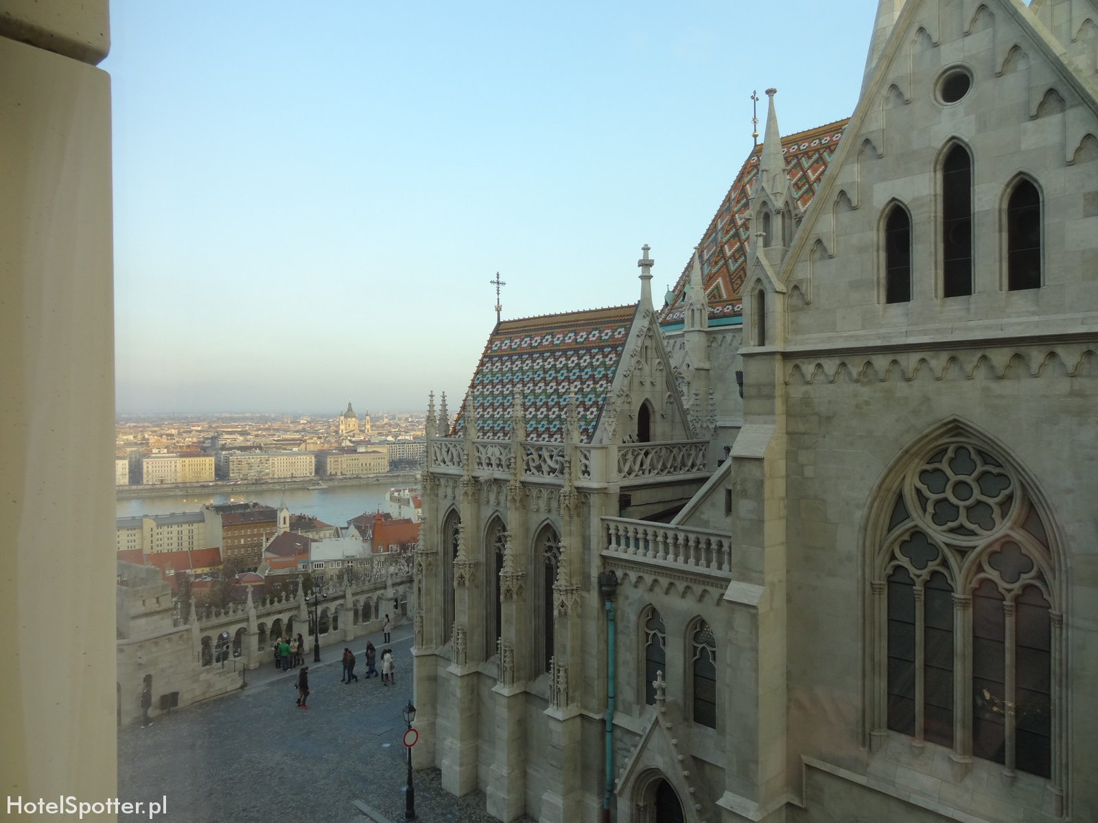 Hilton Budapest hotel recenzja review widok na Dunaj