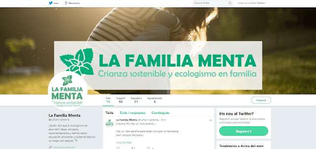 ¡La Familia Menta llega a Twitter!