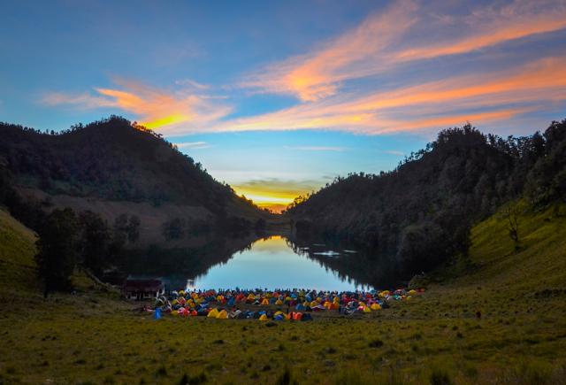 Ranu Gumbolo Wisata di Tulungagung dengan Pemandangan Alam yang Mempesona