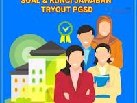 Download Soal+Kunci Jawaban Try Out PGSD Seri Belajar Mandiri PPPK  Calon Guru ASN PPPK