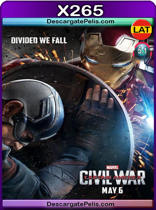 Capitán América Civil War (2016) 1080P x265 Latino – Ingles