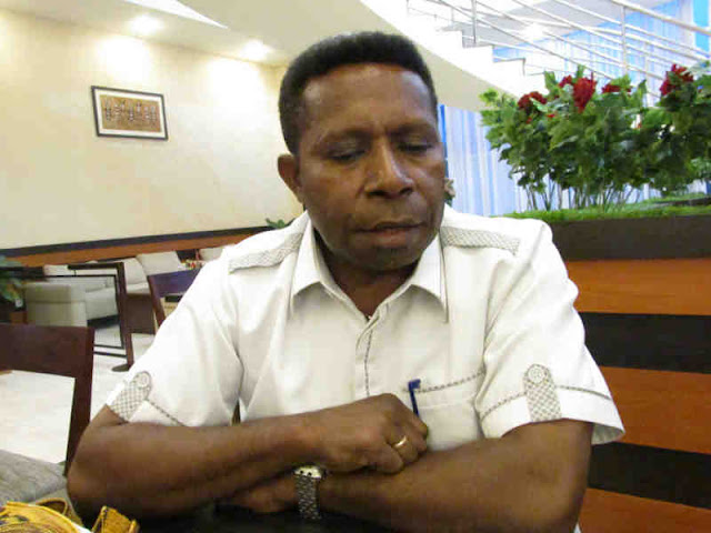 Felix Mote Sayangkan Retrebusi TPI Hamadi Dipungut Warga