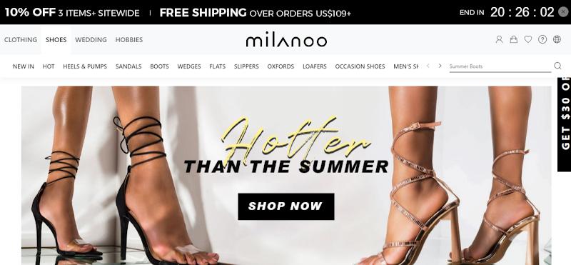 Milanoo.com Online Shop For Clothing, Shoes and Wedding Apparel