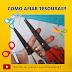 COMO AFIAR TESOURAS (HOW TO SHARP SCISSORS)