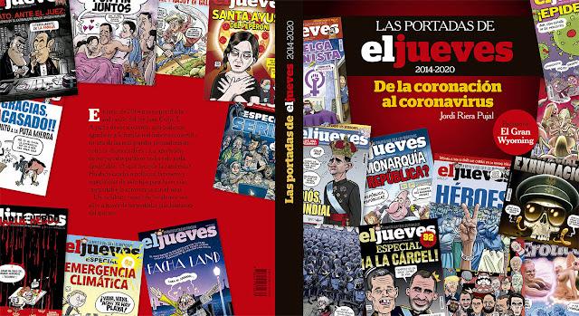 Las portadas de El Jueves (2014-2020).