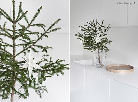 Papiersterne selber falten - die 3D Sterne passen toll an einen Tannenbaum
