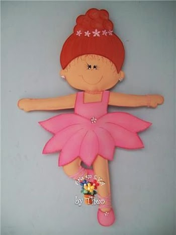DIY Lovely Ballerina.