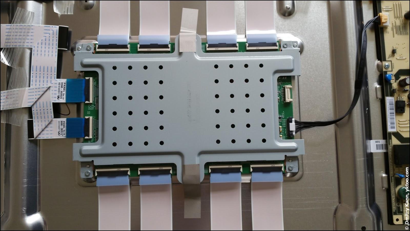 Panel controller board.