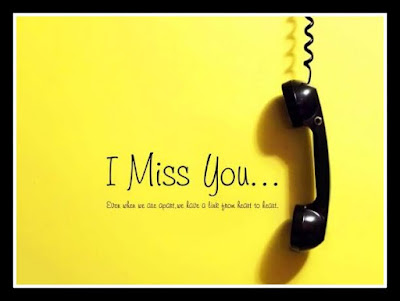 I Miss you Status in English