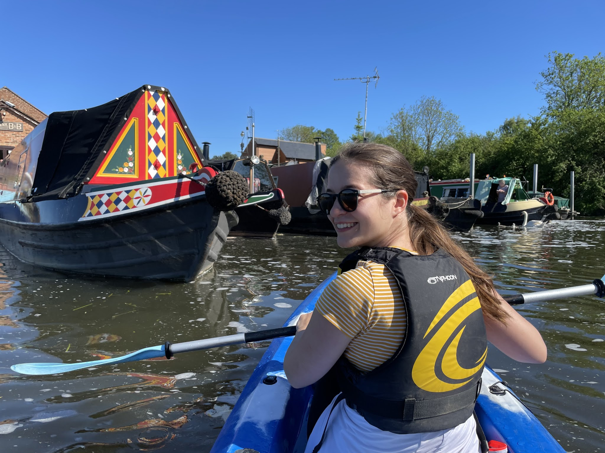 Let's Get Lost kayaking Leicestershire