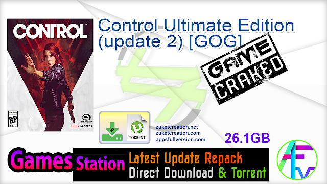 Control Ultimate Edition (update 2) [GOG]