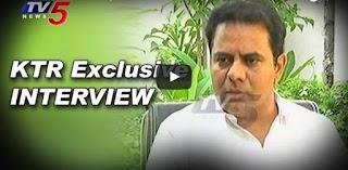 KTR Exclusive Interview  TRS Will Win Paleru By-Polls