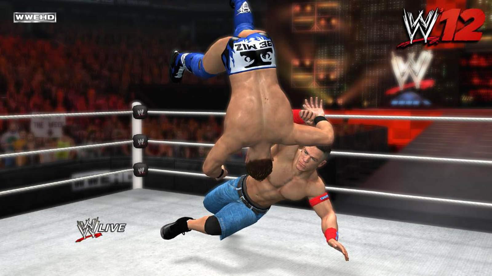 تحميل لعبة WWE 2012 مضغوطة برابط واحد مباشر كاملة مجانا