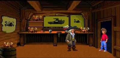 Regreso al futuro Parte III - Línea de tiempo de Monkey Island