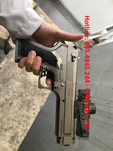 Súng lục bắn đạn thạch liên thanh M92_1