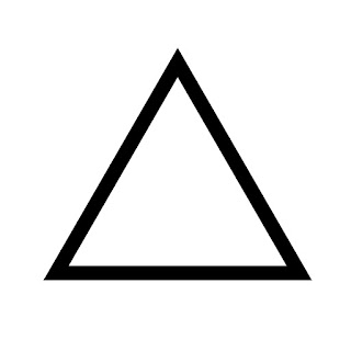 vector clip art of an equilateral