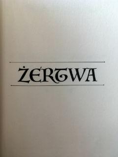 """druga część """"Opowieści z Wieloświata"""", czyli """"Żertwa"""" Anna Sokalska, fot. paratexterka ©"""