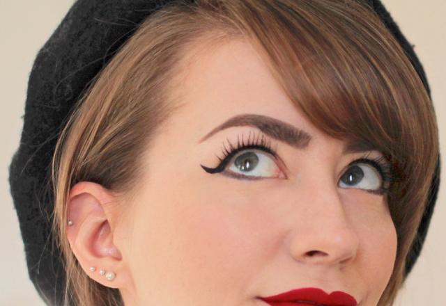 Lancome Grandiose Extreme Mascara on lashes