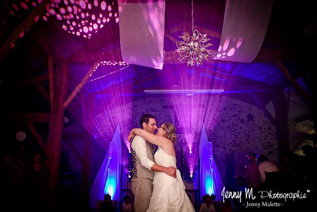 ouverture du bal des mariés domaine de la moinardière salle de réception