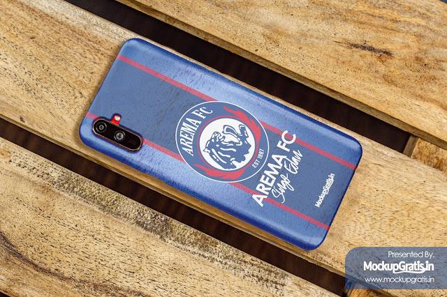 Mockup Gratis Custom Case 3D Realme C3