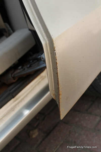 how to fix rust spots on car
