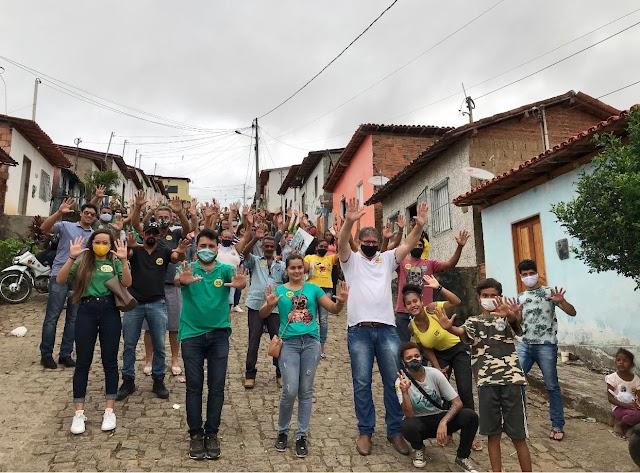 ITARANTIM: FÁBIO GUSMÃO VISITA BAIRRO BOB KENNEDY.