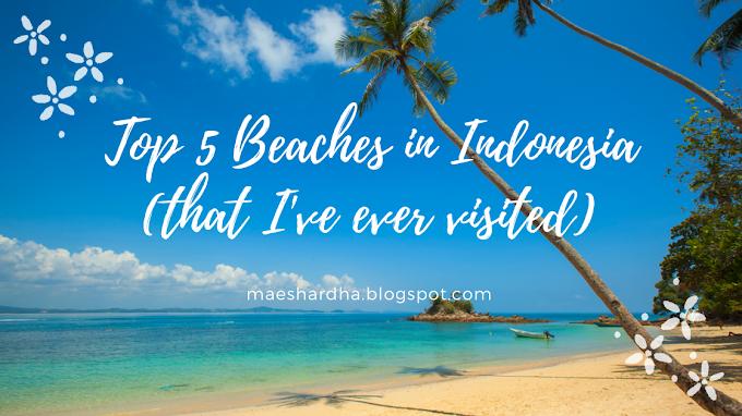 5 Pantai Terbaik Dalam Negeri yang Pernah Dikunjungi