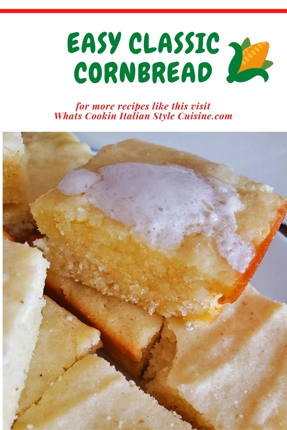 this is a pin for later on how to make cornbread from scratch
