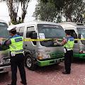 Operasi Penyekatan, Polres Karawang Jaring Puluhan Travel Gelap