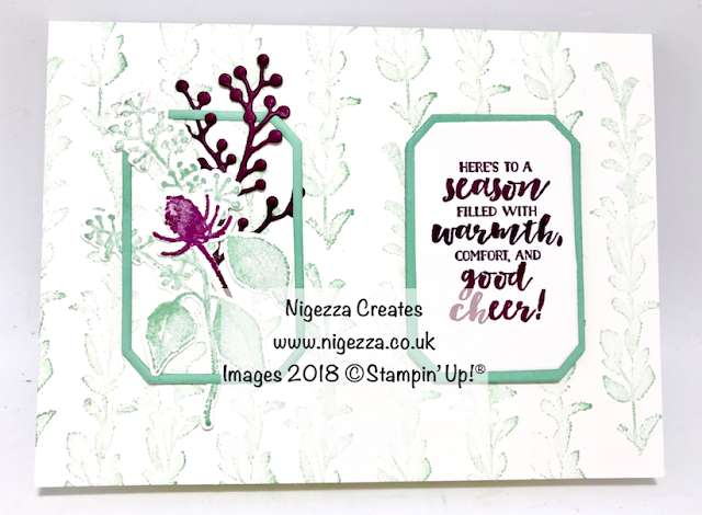 Nigezza Creates Frosted floral