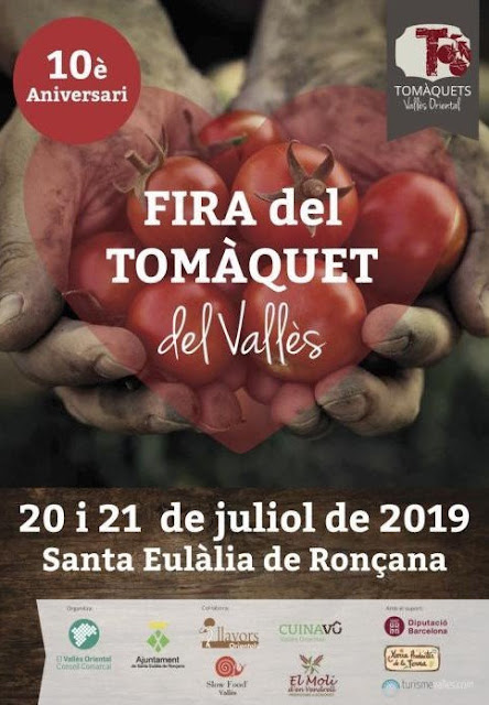 1er Concurs de la cuina del Tomàquet a la Fira del Tomàquet de Santa Eulàlia de Ronçana