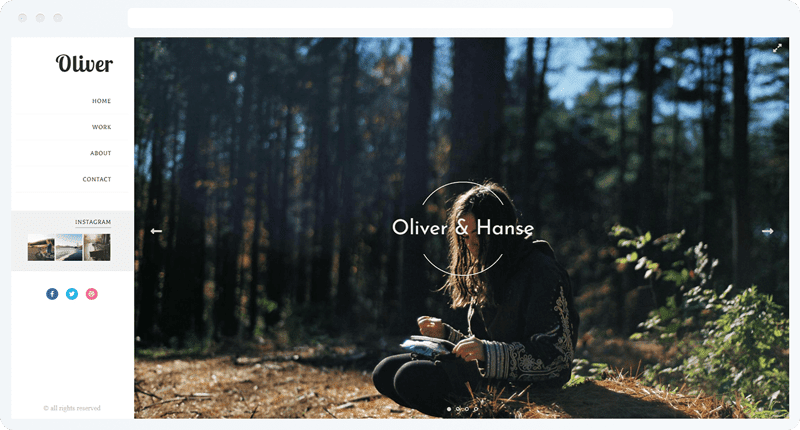 Oliver With Slider
