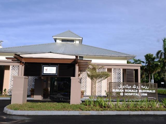 Rumah Ronald McDonald di Hospital USM