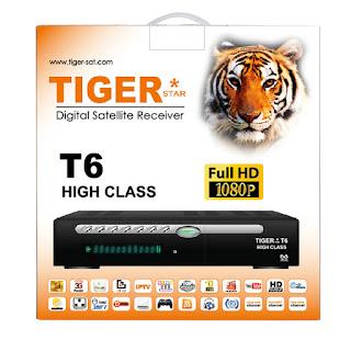 liste chaine Tiger T6 High Class  2021 ملف قنوات