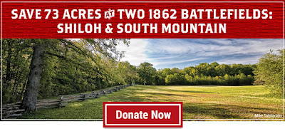 Save 73 Acres at Shiloh and South Mountain (and Get a New Book About Shiloh for Your Trouble!)