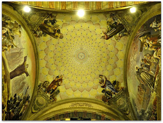 'Os Quatro Evangelistas', Aldo Locatelli (1957) - Igreja Santa Teresinha