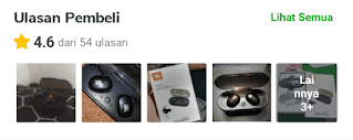 Ulasan JBL TWS 5 Earphone